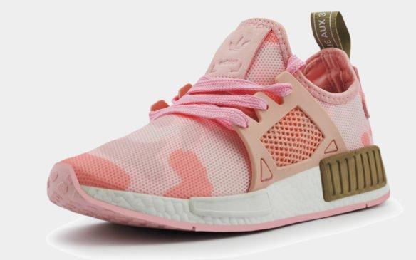 Adidas NMD XR1 Pinkduck Camo розовые